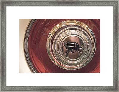 1930 Ruxton Wheel Framed Print by Ben and Raisa Gertsberg