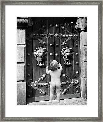 1930s 1940s 1950s 1960s Symbolic Framed Print