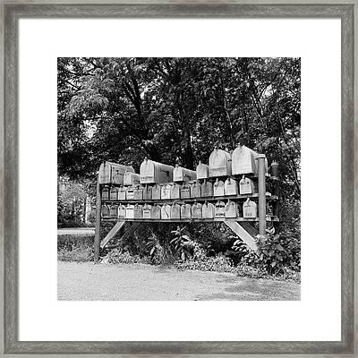 1930s 1940s 1950s Group Of 37 Rural Framed Print