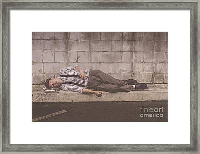 1930s The Great Depression  Framed Print