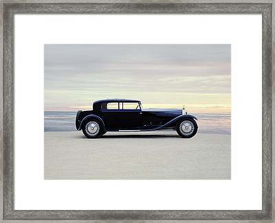 1931 Bugatti Type 41 Royale Coupe Framed Print