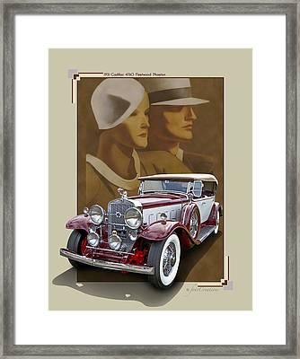 1931 Cadillac 4760 Fleetwood Phaeton Framed Print
