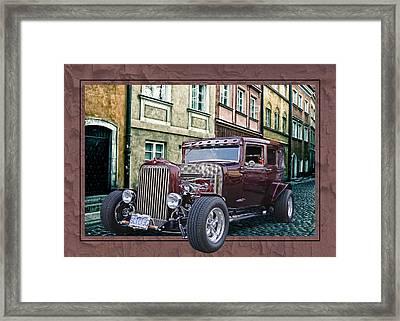 1931 Chev Framed Print