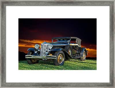 1931 Chrysler Imperial Cg Framed Print by Dave Koontz