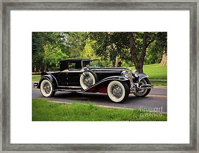1931 Cord  Framed Print by Dennis Hedberg