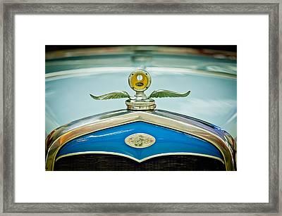 1931 Ford Emble - Moto Meter Hood Ornament Framed Print