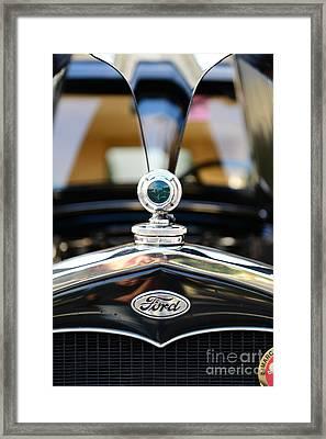 1931 Ford Model A Framed Print by Paul Ward