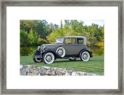 1931 Ford Model A Victoria IIi Framed Print by Dave Koontz
