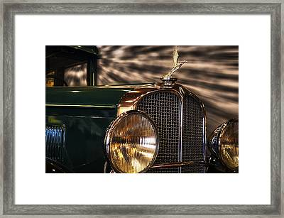 1931 Oakland Sports Coupe Framed Print by Thomas Woolworth