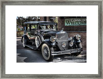 1931 Pierce Arrow Framed Print