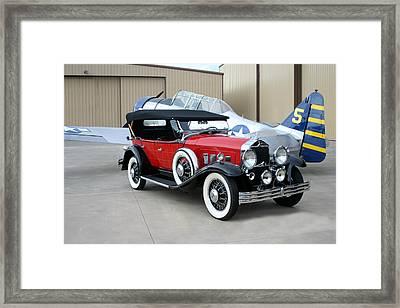 1931 Willys Knight Phaeton Sports Touring Framed Print by Jack Pumphrey