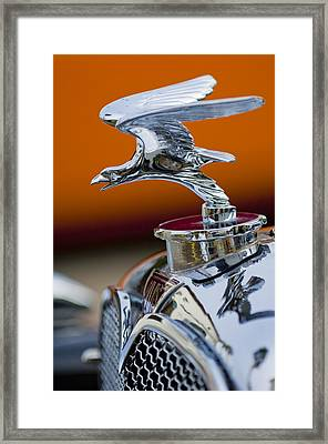 1932 Alvis Hood Ornament 2 Framed Print