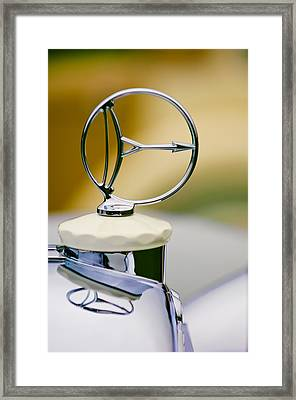 1932 Austro Daimler 635 Armbruster Sport Bergmeister Cabriolet Hood Ornament Framed Print