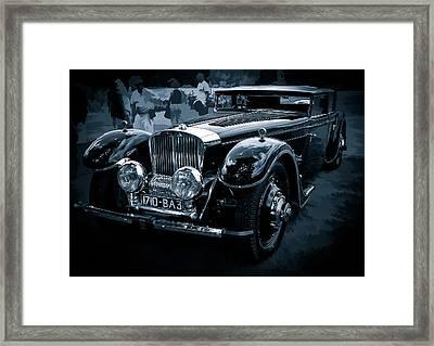 1932 Bucciali Tav 12 Framed Print