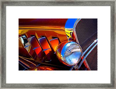 1932 Chevy Coupe Framed Print by David Patterson
