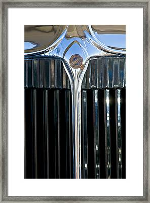 1932 Chrysler Hood Ornament Framed Print
