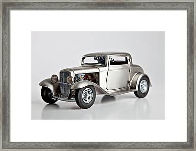 1932 Ford 3 Window Coupe Framed Print by Gianfranco Weiss
