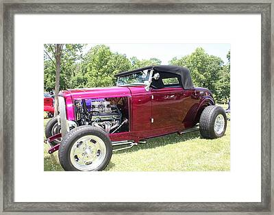 1932 Ford Convertible Roadster Framed Print