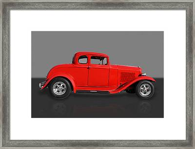 1932 Ford Framed Print by Frank J Benz