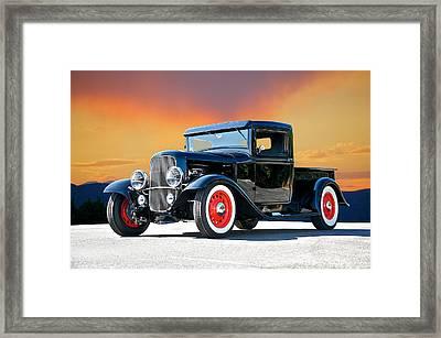 1932 Ford Pick Up II Framed Print by Dave Koontz