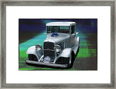 1932 Ford Pickup Framed Print by Richard Farrington