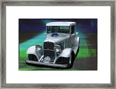 Framed Print featuring the digital art 1932 Ford Pickup by Richard Farrington