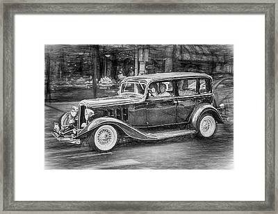 1932 Nash Sedan Framed Print