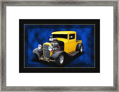 Framed Print featuring the photograph 1932 Pickup by Keith Hawley