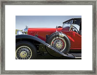 1932 Stutz Bearcat Dv32 Framed Print