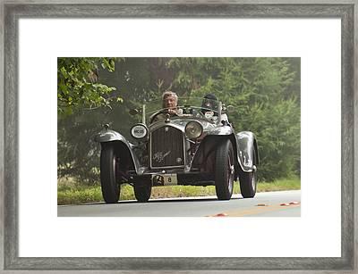 1933 Alfa Romeo 8c Corto Touring Spyder Framed Print by Jill Reger