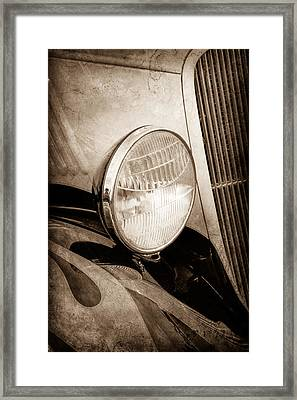 1933 Ford Coupe Hot Rod Framed Print