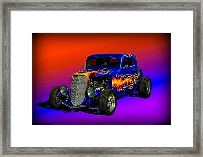 1933 Ford High Boy Hot Rod Framed Print