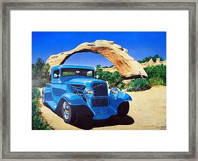 1933 Ford Pickup Framed Print