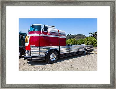 1933 Gm Futureliner Framed Print
