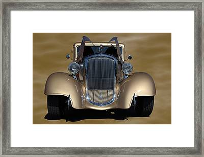 1933 Plymouth Hot Rod Coupe Framed Print by Tim McCullough