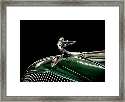 1933 Plymouth Mascot Framed Print by Douglas Pittman