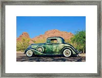 1933 Pontiac -0008c Framed Print by Jill Reger