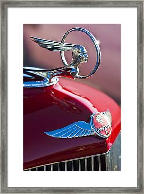 1933 Pontiac Hood Ornament 3 Framed Print by Jill Reger