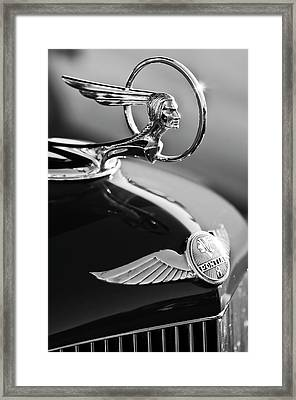 1933 Pontiac Hood Ornament 4 Framed Print