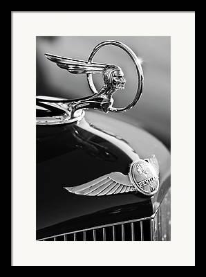 1933 Pontiac Framed Prints