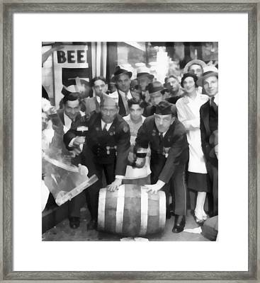 1933 Prohibition Repeal Framed Print