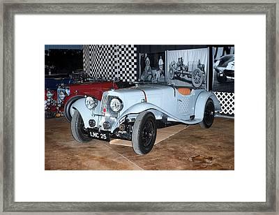 Framed Print featuring the photograph 1934 Aston Martin 1.5 Liter Mk. II by Boris Mordukhayev