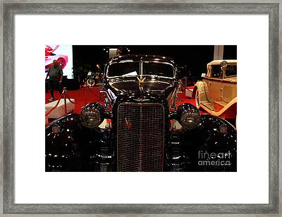 1934 Cadillac V16 Aero Coupe - 5d19875 Framed Print by Wingsdomain Art and Photography