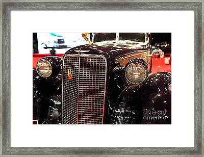 1934 Cadillac V16 Aero Coupe - 5d19876 Framed Print by Wingsdomain Art and Photography