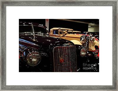 1934 Cadillac V16 Aero Coupe - 5d19877 Framed Print by Wingsdomain Art and Photography