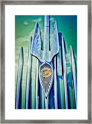 1934 Chrysler Airflow Hood Ornament 2 Framed Print by Jill Reger