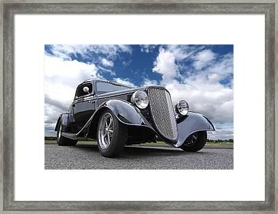 1934 Ford Coupe Framed Print by Gill Billington