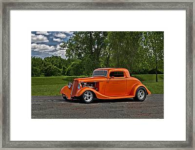 1934 Ford Coupe Framed Print by Tim McCullough