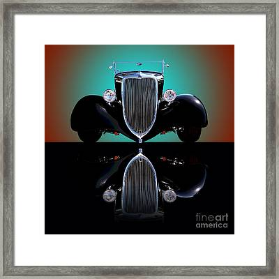 1934 Ford Phaeton Convertible Framed Print