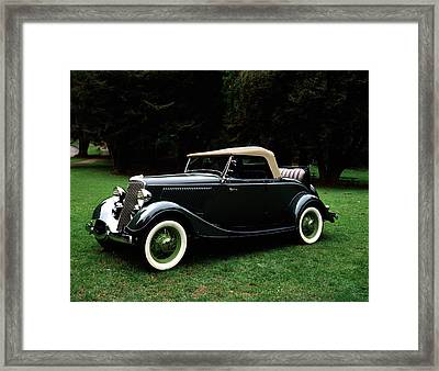 1934 Ford Roadster Convertible Framed Print